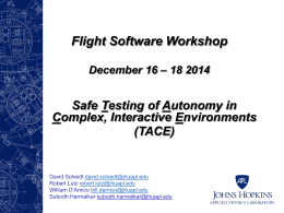 Safe Testing of Autonomy in Complex, Interactive Environments