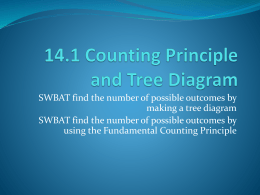 14.1 Counting Principle and Tree Diagram - Miss-Stow-Math