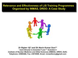 Findings of the Survey Dr Rajeev Vij