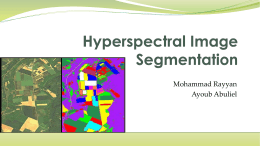 Hyperspectral Image Segmentation
