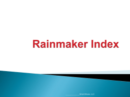 Rainmaker Index