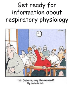 Respiration: Physiology