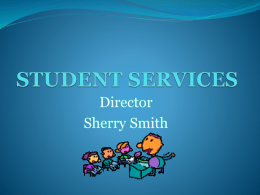 student services - Santa Rosa County School District