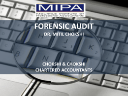 Forensic-Audit