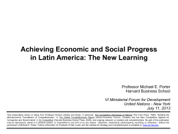 ISC PowerPoint Template - UNDP in Latin America and the Caribbean