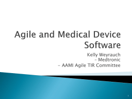Agile and Medical Device Software - Twin-SPIN