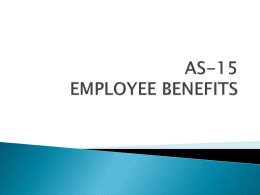 as-15 employee benefits