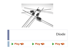 Diode - Play PPT