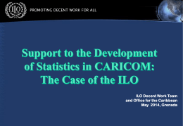Support to the Development of Statistics in CARICOM
