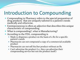 Pharmacy Technician*s Course. LaGuardia Community College