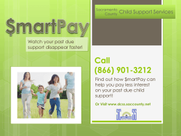 Call - Home, Department of Child Support Services