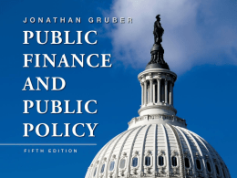 public finance and public policy Explores the role of government in the economy, applying tools of basic microeconomics to answer important policy questions such as government response to global warming, school choice by k-12 students, social security versus private retirement savings accounts, government versus private health insurance, setting income tax rates for individuals and corporations.