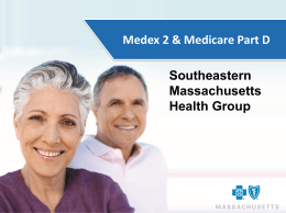 full presentation. - Southeastern Massachusetts Health Group