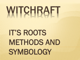 witchcraft: don`t perish for lack of knowledge