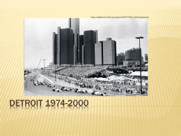1974-2000 - Detroit Historical Society