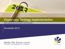Fasset Strategy Implementation