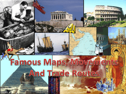 Famous Maps, Movements And Trade Routes Neolithic Revolution