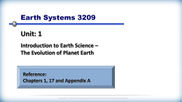 U1-T1.1-Branches of Earth Science