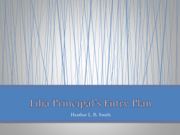 Lilja Principal`s Entry Plan-1