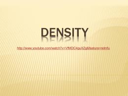 density - Allen County Schools
