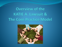 KATIE A. Lawsuit Settlement