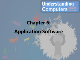 Understanding Computers, Chapter 1 - fcc