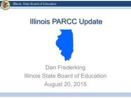 PARCC Updates for 2015-16