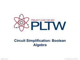 Boolean Algebra - Digital Electronics