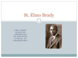 St. Elmo Brady