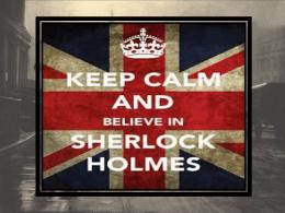 Sherlock Holmes 2015 presentation