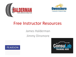 Free Instructor Resources