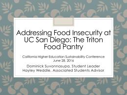 UC San Diego Campus Updates
