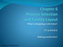 Ch6 Process -n- Layout