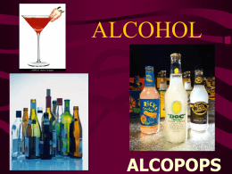 alcohol - World of Teaching