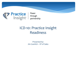 table of contents - Practice Insight