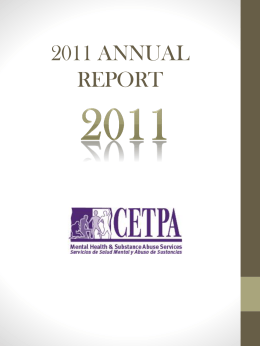 CETPA Annual Report 2011