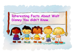 Interesting Facts About Walt Disney You didn`t Know. Aged 16, Walt
