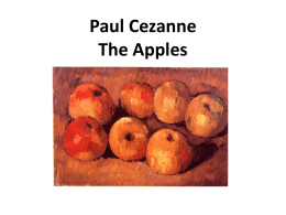 Paul Cezanne Apples