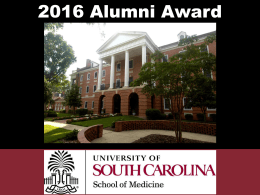 2016 Alumni Award Recipients
