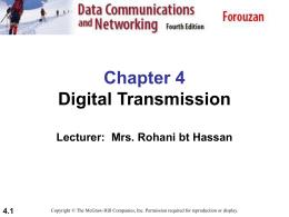 Chapter 4 - Digital Transmission file - E