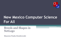 ppt - New Mexico Computer Science for All