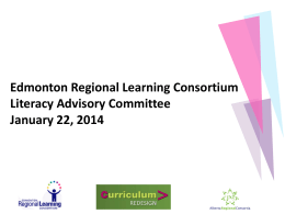 LI ACM Jan 22 PPT - Edmonton Regional Learning Consortium