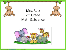Ruiz-2015 Back To School Power Point