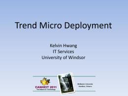 Presentation Slides - McMaster University