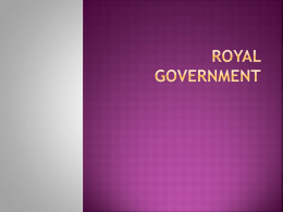 Royal Government