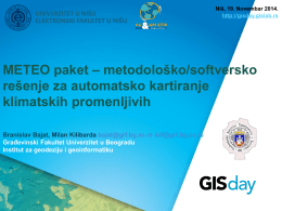 PPT - GIS day Serbia