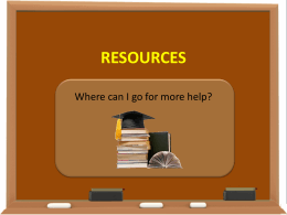 Additional Resources for University of Phoenix Students
