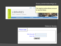 tutoring http://library.centennialcollege.ca in person telephone email