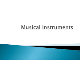 Musical Instruments PP File