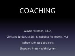 coaching - PBIS Maryland